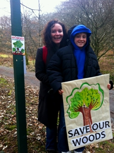 Save Our Woods at Grizedale Rally