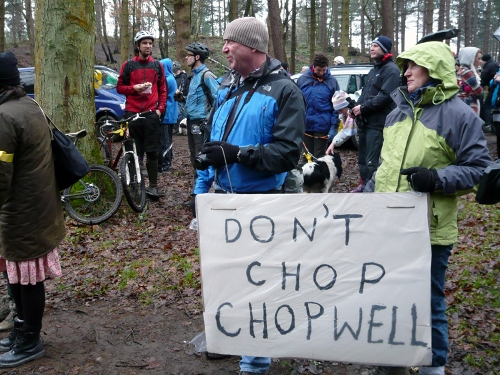Save Chopwell Wood Protest